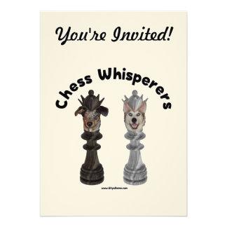 Dog Chess Whisperer Invite