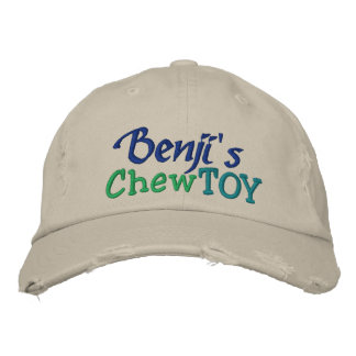 Dog Chew Toy Cap by SRF Embroidered Hat