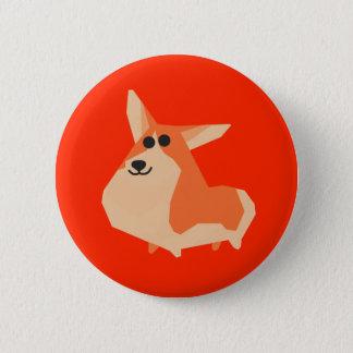 Dog (Chinese New Year) 6 Cm Round Badge