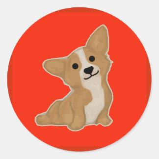 Dog (Chinese New Year) Classic Round Sticker