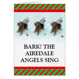 Dog Christmas Card