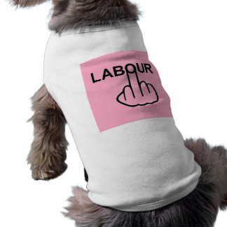 Dog Clothing Labour Flip