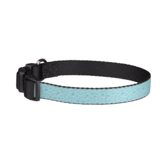 Dog Collar - Bubble blue elegance
