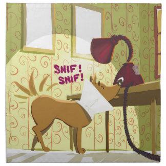Dog Conehead Funny Cloth Napkin