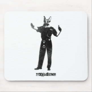 Dog Cop Mouse Pad