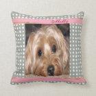 Dog Customisable Pet Photo Cushion