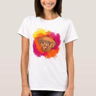 Dog cute oculos T-Shirt