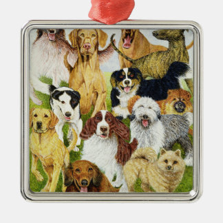 Dog Days Christmas Ornament