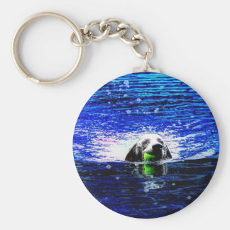 Dog Days of Summer Keychain