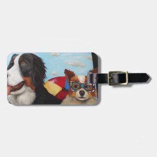 Dog Days Of Summer Luggage Tag