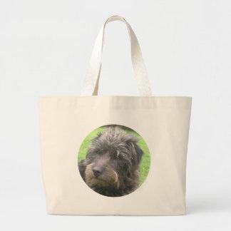 dog design jumbo tote bag