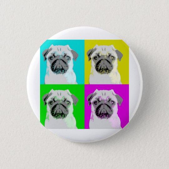 Dog Design Style! 6 Cm Round Badge