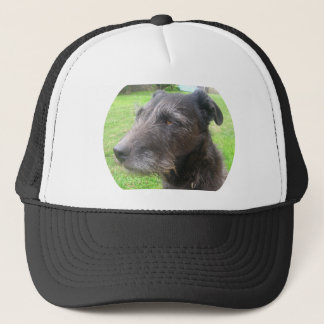 dog design trucker hat