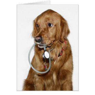 Dog Doc Greeting Card