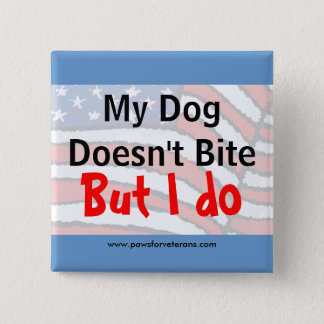 Dog Doesn't Bite Button