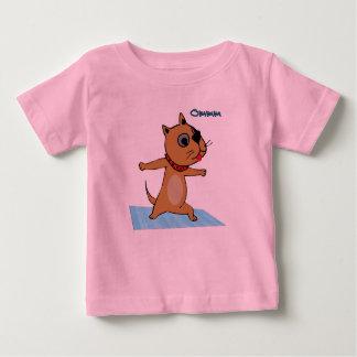 Dog Doing Yoga - Yoga Baby Clothes T-shirts