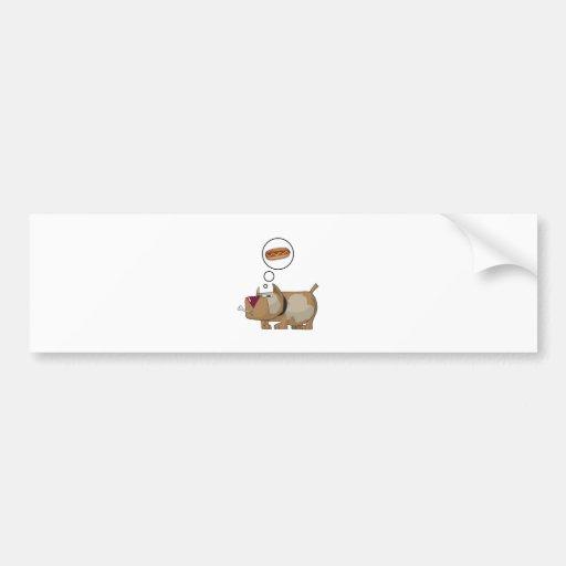 Dog Dreams Bumper Sticker