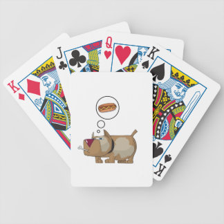 Dog Dreams Bicycle Poker Cards