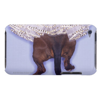 Dog dressed up barely there iPod cases