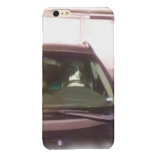 dog driving car iPhone 6 plus case