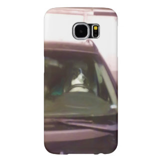 dog driving car samsung galaxy s6 cases