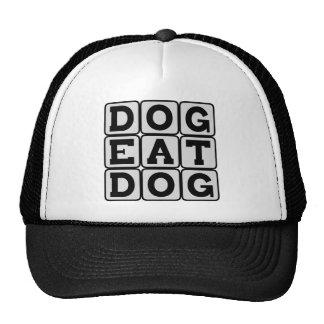 Dog Eat Dog Corporate Environment Hats