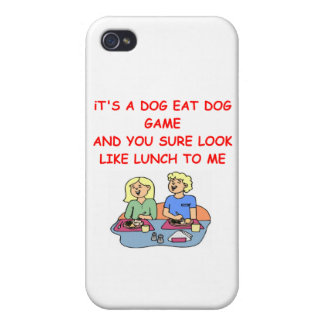 dog eat dog iPhone 4/4S covers