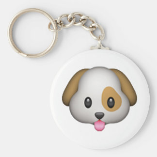 Dog - Emoji Key Ring
