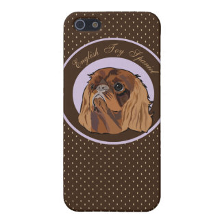 Dog English toy spaniel Case For iPhone 5/5S