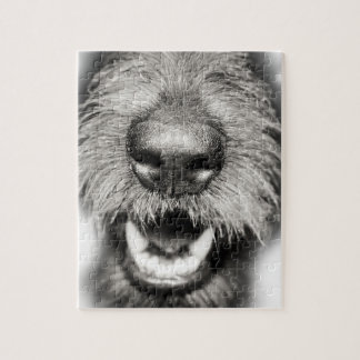 Dog Face Funny Smile Jigsaw Puzzle