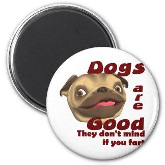 Dog Fart Magnet