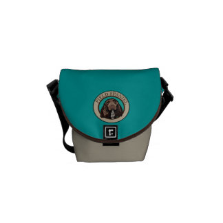 Dog Field Spaniel Courier Bag