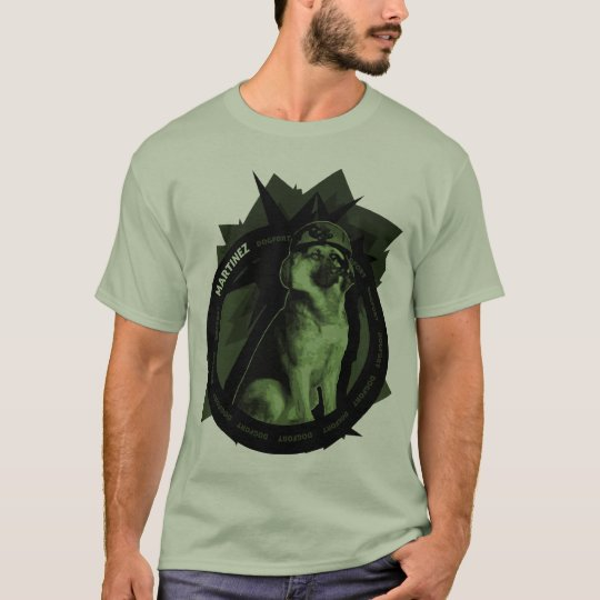 Dog Fort - Martinez Portrait T-Shirt
