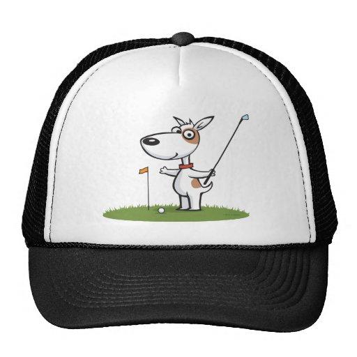 Dog Golf Mesh Hats