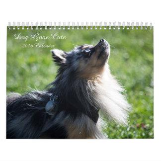 Dog Gone Cute 2016 Wall Calender Calendars