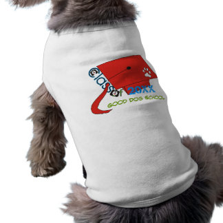 Dog Graduation Dog Shirts Sleeveless Dog Shirt