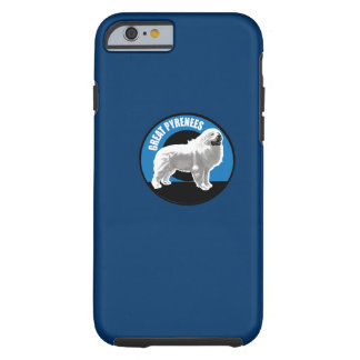 Dog Great Pyrenees Tough iPhone 6 Case