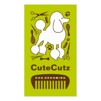 Dog Groomer Business Card