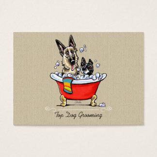 Dog Groomer Fancy Claw Foot Tub Organic