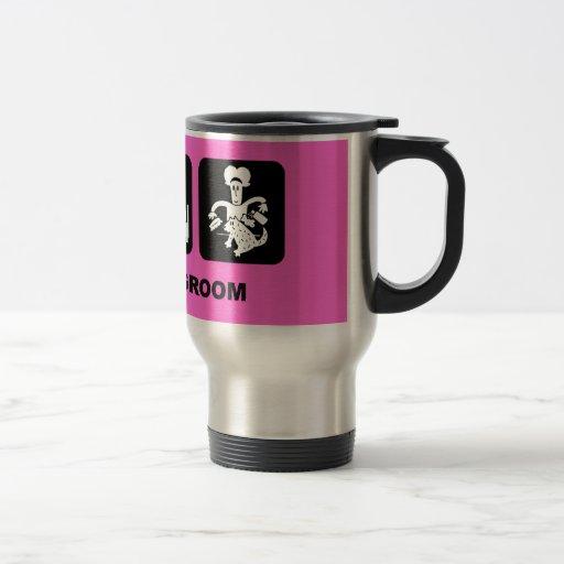 Dog groomer coffee mugs