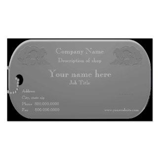 Dog Groomer or Dog Trainer Business Card