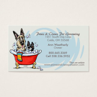 Dog Groomer Pet Spa Claw Tub Blue Appointment