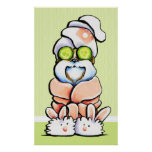 Dog Groomer Pet Spa Shih Tzu Cucumber Poster