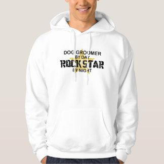 Dog Groomer Rock Star Hoodie
