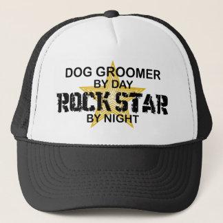Dog Groomer Rock Star Trucker Hat
