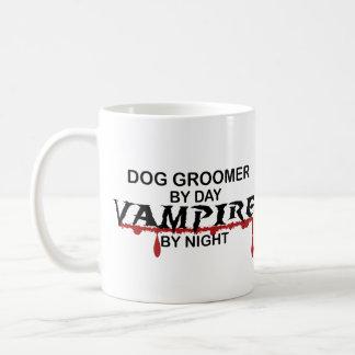 Dog Groomer Vampire by Night Coffee Mug