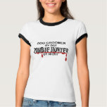 Dog Groomer Zombie Hunter T-shirt