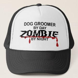 Dog Groomer Zombie Trucker Hat