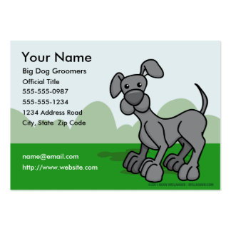 Dog Groomers Business Card