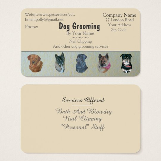 dog Grooming and pet care services business Business